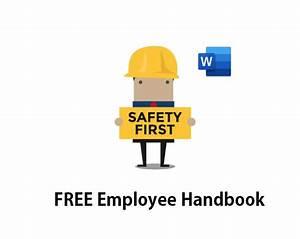 Employee Handbook In Word