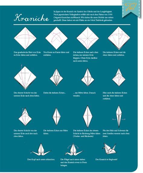 origami kranich anleitung 1000 kraniche f 252 r die wand origami als wanddeko rotziundbaerchen