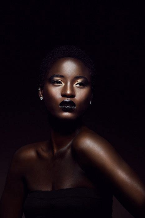 Beautiful Black Image by Pin On Negroid Front View