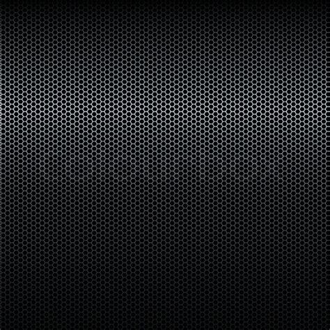 Nahtloser Vektor Schwarz Metall Textur Mit Highlight