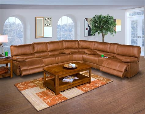 microfiber sectional recliner sofa the best reclining sofas ratings reviews barton 6 pc