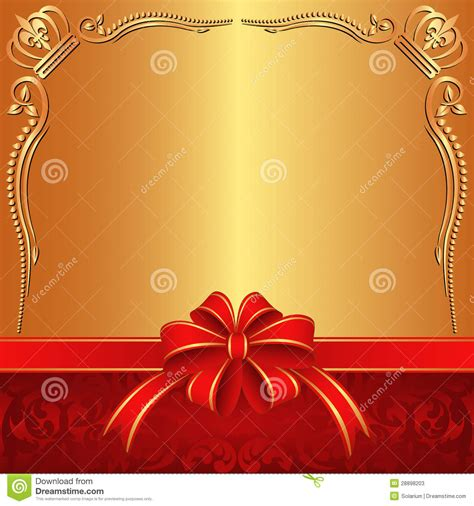 Red And Gold Wallpapers Golden Background Stock Photos Image 28898203