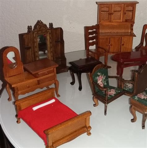 31194 wood bedroom furniture expert large collection of wooden handmade dollhouse furniture