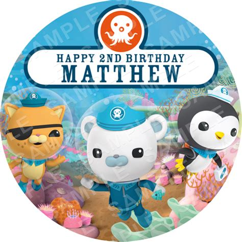 octonauts archives edible cake toppers ireland