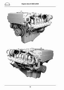 Man Marine Diesel Engine D 2842 Le 410 Service Repair Manual