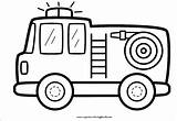 Fire Truck Coloring Draw Printable Mewarnai Step Coloringonly Cara Menggambar sketch template