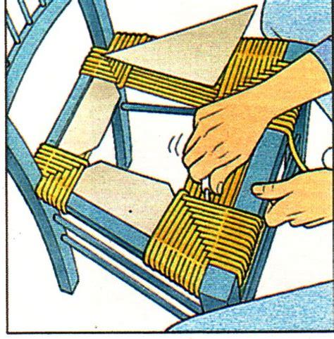 rempailler une chaise avec du tissu rempailler une chaise