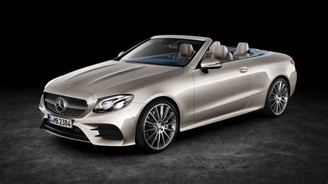 convertible mercedes 2018 mercedes benz e class cabriolet 4k wallpaper hd car