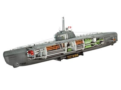 Type 21 U Boat by U Boot Type 21 Maquette 1 144 Revell 05078