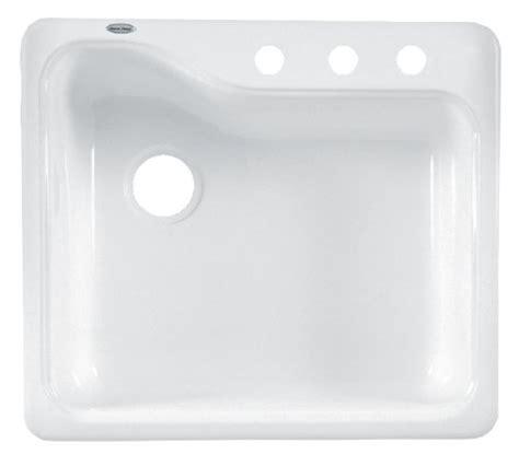 american standard silhouette kitchen sink american standard 7172 803 208 silhouette 25 inch americas