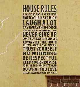 Dominant House Rules Quotes. QuotesGram
