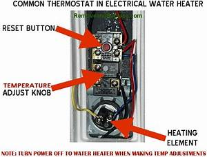 How To Change The Temperature On Your Electric Water