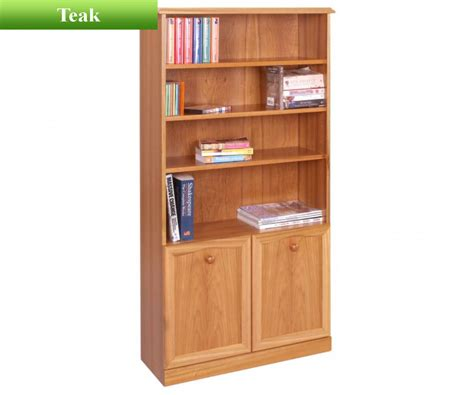 Bookcase 2 Shelf by Sutcliffe Trafalgar 252 Bookcase With 2 Doors And 3