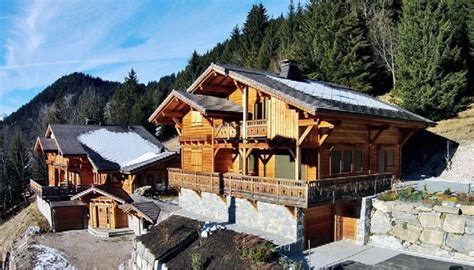 chalets for sale in chatel chatel spacious luxury new build detached chalets for sale