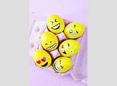 DIY Emoji Ostereier selber machen – 3 kreative Oster Deko