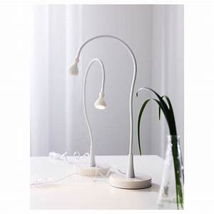 ikea jansjo led table desk study lamp work light black or With jansjo floor lamp white