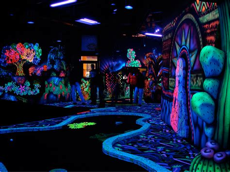 Blacklight Bedroom  Bedroom At Real Estate