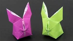 Basteln Zu Ostern : basteln zu ostern aufblasbaren origami osterhasen falten ~ Watch28wear.com Haus und Dekorationen