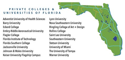 private colleges  universities  florida guidance
