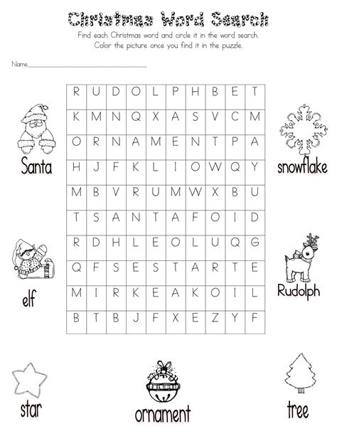 word search for fifth graders word search