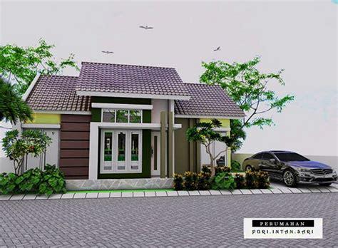 desain gambar denah rumah minimalis type  terbaru