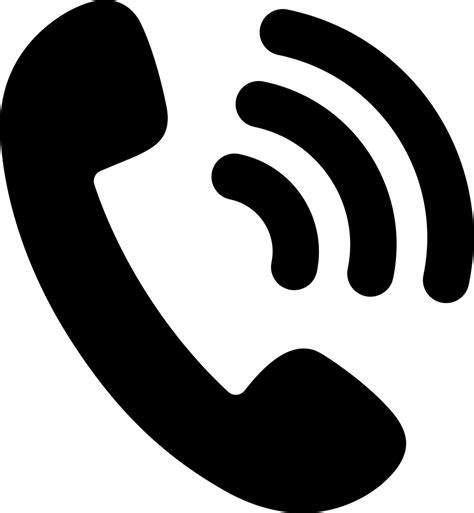 telephone icon vector transparent telephone svg png icon free 157010