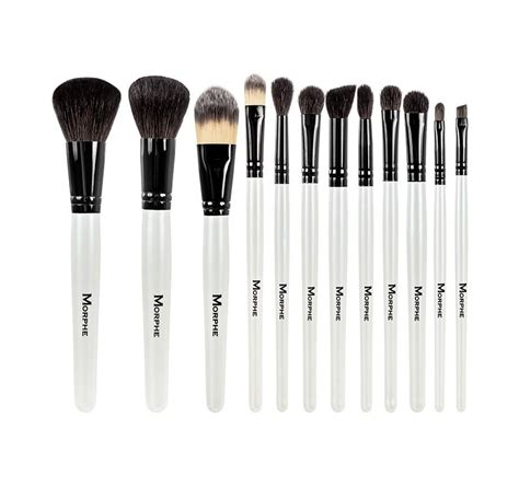 set   piece black  white travel set morphe