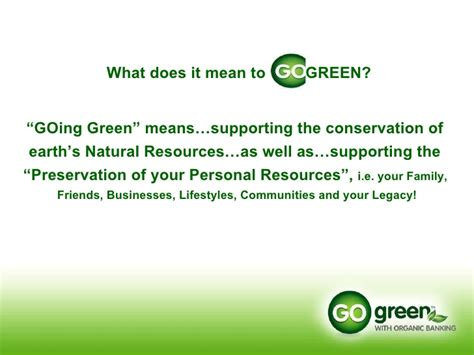 what does the green light mean in the great gatsby go green power point presentation 2
