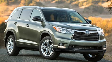 2014 Toyota Highlander Review Great Midsize Suv But