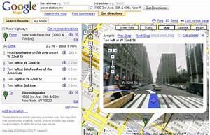 Street View Google Map : google combines driving directions with street view ~ Medecine-chirurgie-esthetiques.com Avis de Voitures