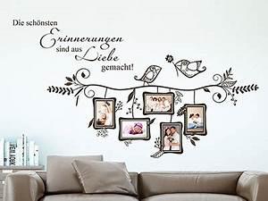 Wandtattoo Mit Bilderrahmen : wandtattoo fotorahmen kreative bilderrahmen ~ Bigdaddyawards.com Haus und Dekorationen