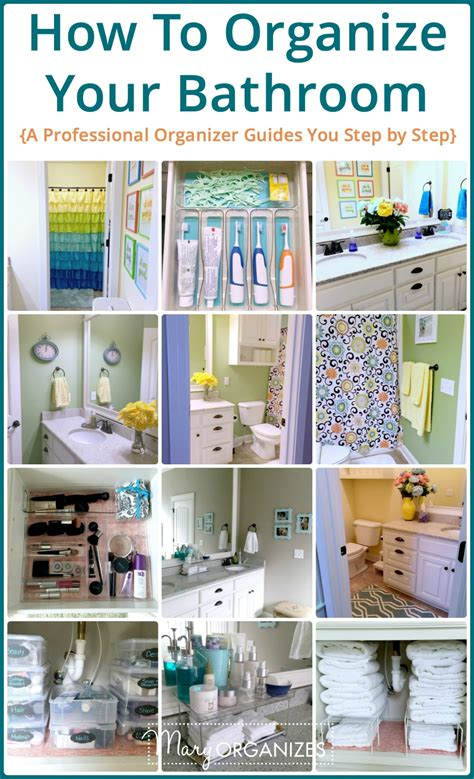 How To Organize Your Bathroom V Creatingmaryshomecom