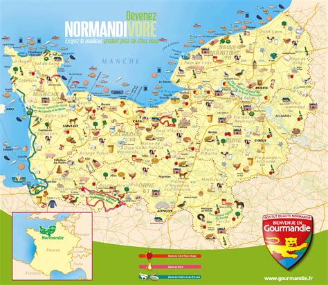 Carte Normandie Michelin by Carte De La Normandie Plusieurs Cartes De La R 233 Gion