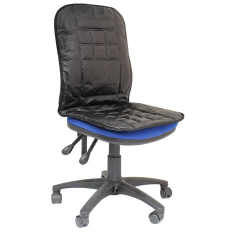 desk chair seat cushion orthopaedic leather desk office chair back seat cushion