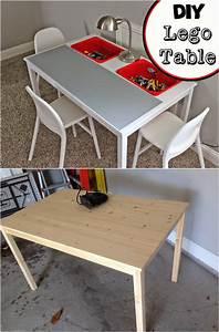 Table Transformable Ikea : creative ideas how to transform an ikea table into a lego table ~ Teatrodelosmanantiales.com Idées de Décoration