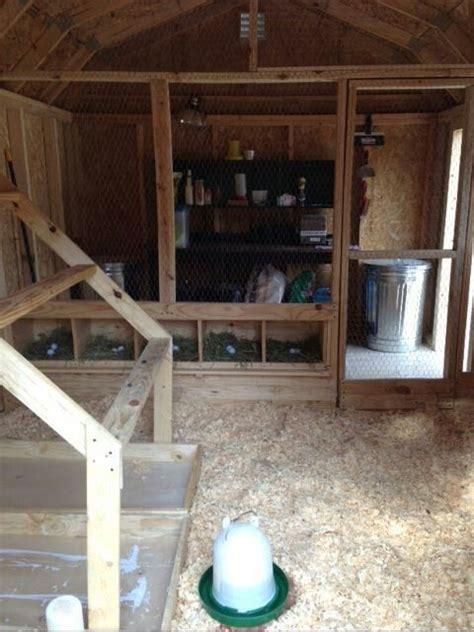 coop interior chicken coops pinterest