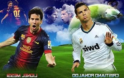 Messi Ronaldo Vs Wallpapers Wallpapersafari Cronaldo Lucu