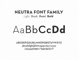 neutra font family fonts pinterest With neutra letters