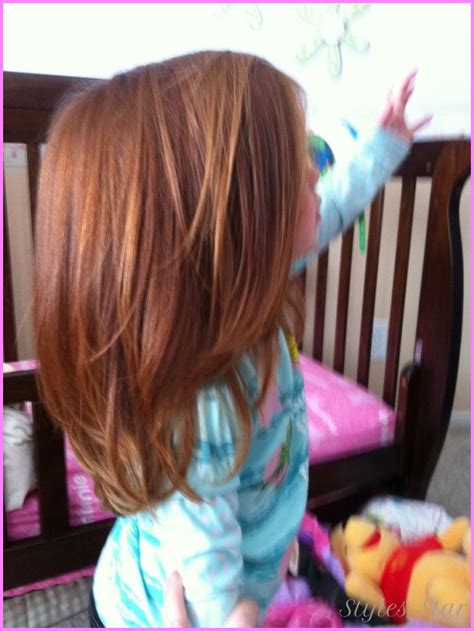 layered haircuts for little girls with long hair