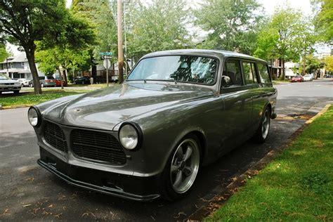 volvo  amazon station wagon  door custom