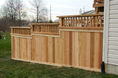 privacy fence design fence designs pictures and ideas