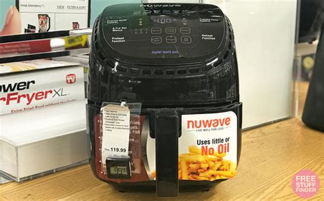 nuwave fryer air quart kohl cash friday kohls reg only after november