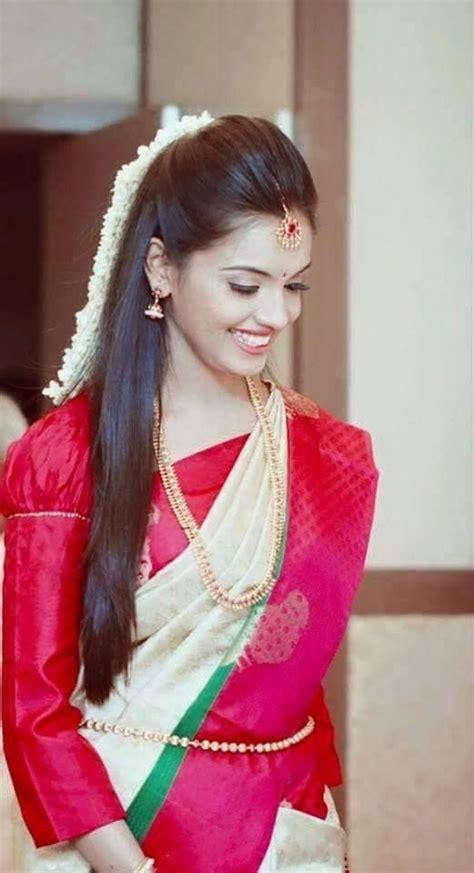 hairstyles  traditional wedding pattu sarees