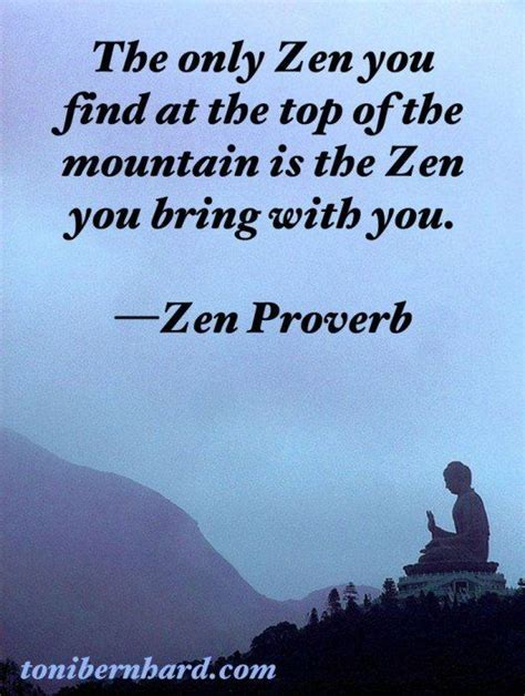 zen quotes bring only inspirational mountain