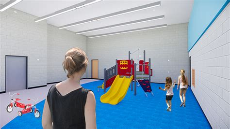 construction starts on jefferson early childhood center in 460 | JeffersonEarlyChildhoodCenter IndoorMotor Rendering