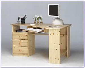 Schreibtisch Kiefer Massiv : schreibtisch kiefer massiv natur lackiert schreibtisch ~ Lateststills.com Haus und Dekorationen
