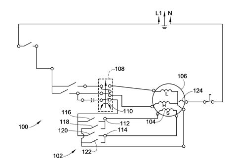 patent us8022657 washing machine wiring to reduce