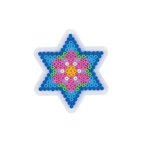 toile pour cuisine plaque perles à repasser hama midi etoile petit modèle