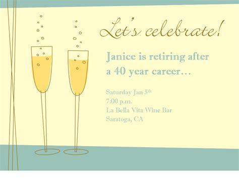 printable retirement invitations templates