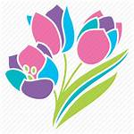 Contoh Spring Flowers Offering Dialog Help Tulips